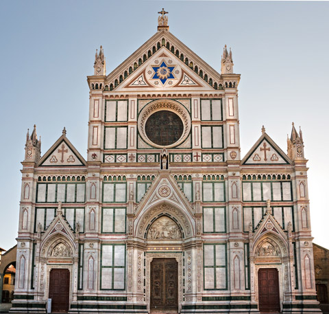 Santa croce gotische franziskanerkirche in florenz ferienhaus toskana - Beruhmte architektur ...