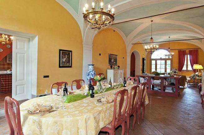 Villa Toskana Für 12 Personen In San Ginese Di Compito