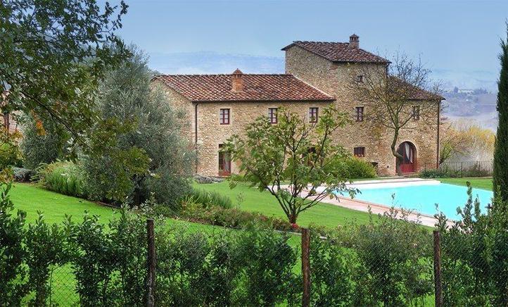 Villa Toskana Für 16 Personen In Petrognano